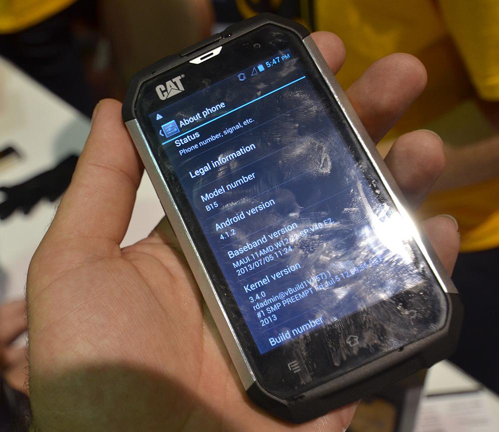 Telefoni E Smartphone Indistruttibili Da Cat Foto 2 Di 8