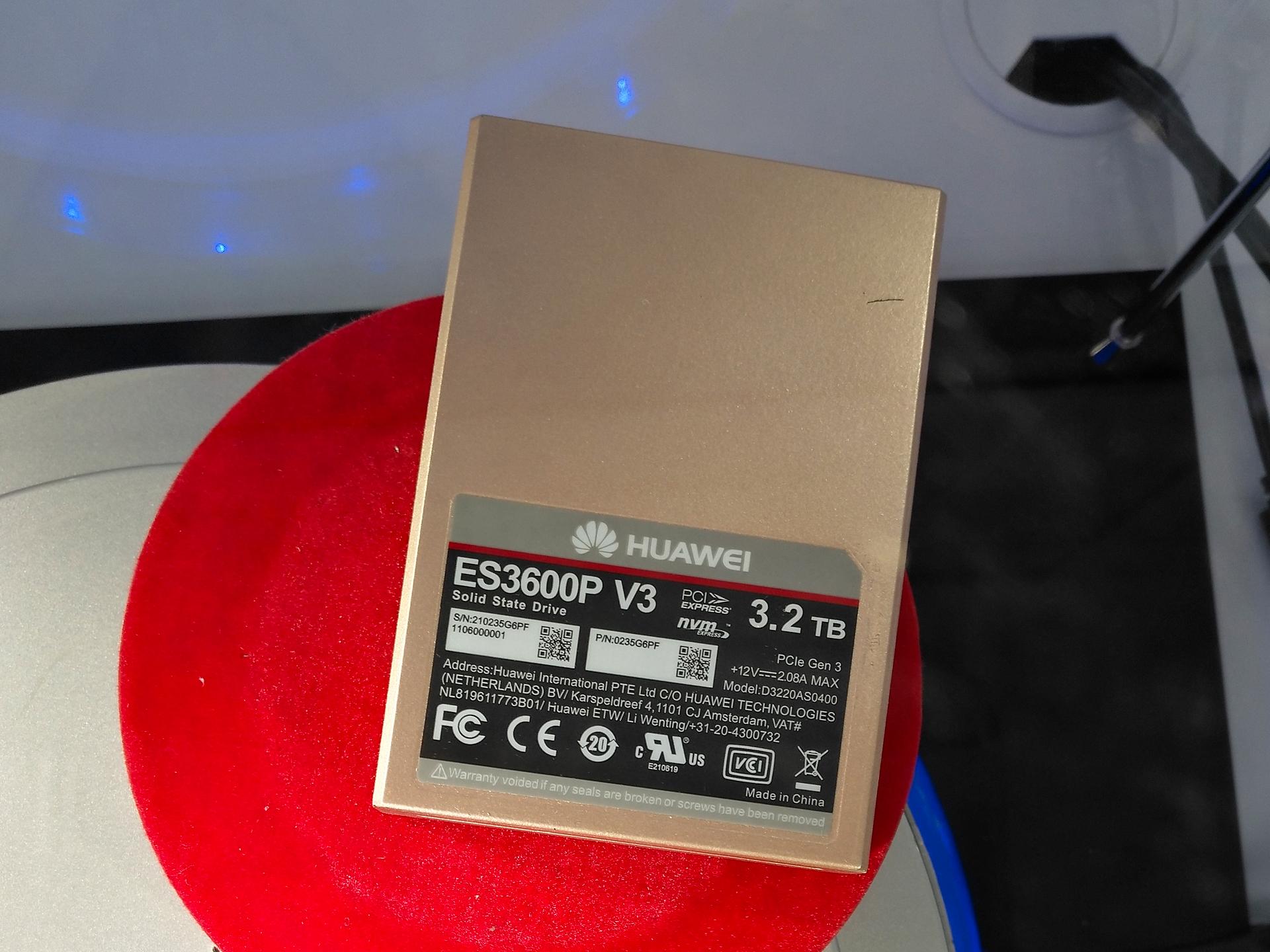 Nemmeno gli SSD restano fuori dall universo Huawei