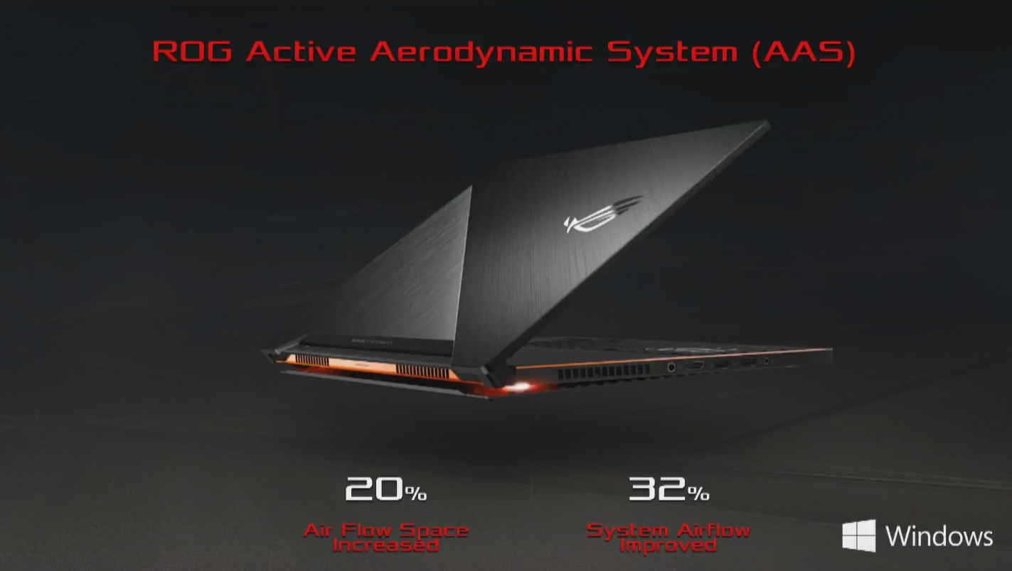Asus ROG Zephyrus: GTX 1080 in soli 16,9mm