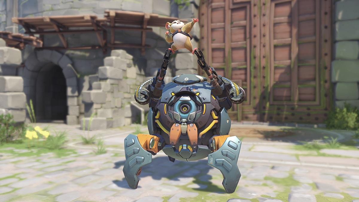 Overwatch: due video ci presentano Wrecking Ball il criceto 14