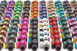 Pentax K50 e K500: colore e particolari