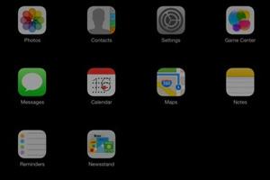 Anteprima iOS 7 su iPad