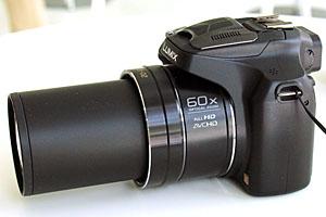 Zoom 60x per la nuova Panasonic Lumix FZ72