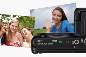 Nikon Coolpix S6600: display orientabile e Wi-Fi