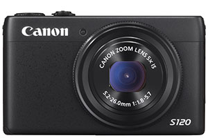 Canon Powershot S120: ottica 24mm F1.8