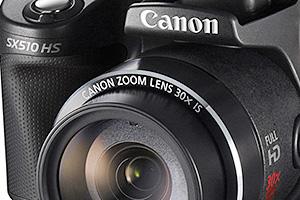 Canon PowerShot SX510 HS e PowerShot SX170 IS: zoom 30x e 16x