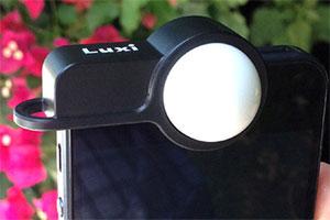 Luxi: la sfera che trasforma iPhone in un esposimetro