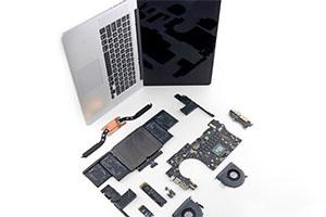 MacBook Pro con display Retina da 15 pollici: gli interni