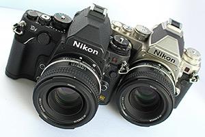 Nikon Df: ecco la full frame vintage dal vivo