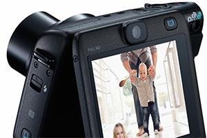 Canon Powershot N100: doppia fotocamera, anche posteriore