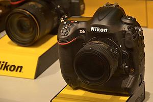 Nikon D4S: ecco il prototipo dal vivo al CES di Las Vegas