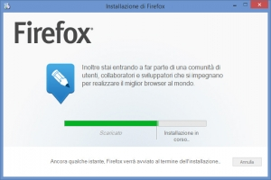 Firefox per Windows 8 Beta Touch