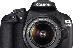 Nuova Canon EOS 1200D: la entry level sale a 18 megapixel