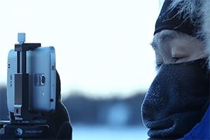 L'aurora boreale immortalata con LG G Pro 2