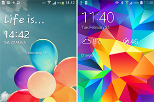 Galaxy S4 vs Galaxy S5: ecco le differenze nell'interfaccia grafica