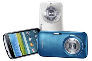 Samsung Galaxy K zoom: 20,7 megapixel  e ottica 24-240mm