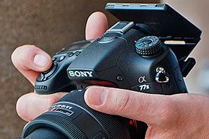 Sony Alpha A77 MkII: eccola dal vivo