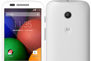 Motorola Moto E: tutte le foto ufficiali