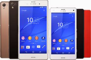 Sony Xperia Z3 e Z3 Compact: tutte le foto ufficiali