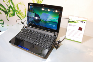 Acer Aspire One 532G, netbook con Nvidia ION2 e Optimus