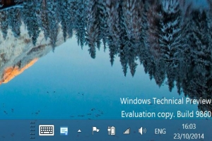 Microsoft Windows 10 Technical Preview 9860