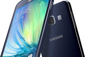 Samsung Galaxy A3: foto ufficiali