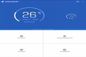 Clean Master per pulizia e ottimizzazione di Android