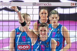 Volley - A1: Igor Gorgonzola Novara vs. Pomi Casalmaggiore with EOS 7D Mk II