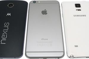Nexus 6, Galaxy Note 4 e iPhone 6 Plus: le foto della comparativa