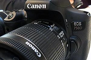 Canon EOS 750D e 760D: eccole dal vivo