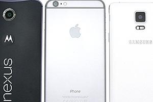 Nexus 6, Galaxy Note 4 e iPhone 6 Plus: alla prova in laboratorio