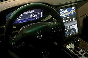 Maserati Quattroporte: le foto dal MWC 2015