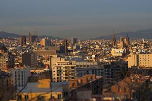 Barcellona con gli occhi Art Filter di Olympus OM-D E-M5 MK II