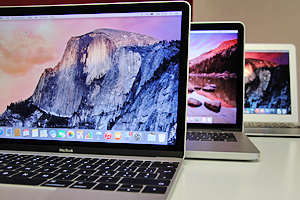 MacBook: 12, Pro 13 e Air 13 a confronto