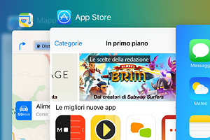 23 screenshot di iOS 9 su iPhone 6 Plus