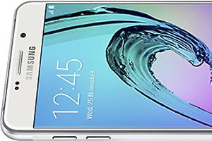 Samsung Galaxy A7 (2016): foto ufficiali