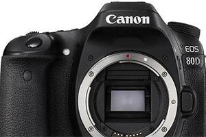 Canon EOS 80D: trapelano le prime immagini