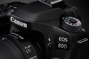 Canon EOS 80D - immagini ufficiali e live