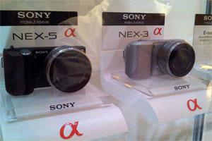Sony NEX-3 e Sony NEX-5