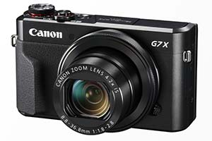 Canon Powershot G7 X Mk II - immagini ufficiali