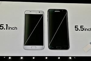 Samsung Galaxy S7 ed S7 Edge, foto dalla presentazione ufficiale
