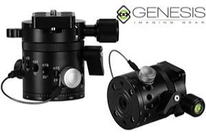 Genesis IR-55QR: testa con rotazioni regolabili per fotografia panoramica