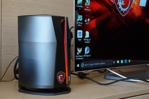 MSI Vortex G65, mini-PC con due GeForce GTX 980