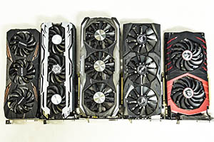 Roundup schede GeForce GTX 1070: le foto