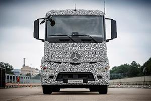 Mercedes-Benz Urban e-Truck: il camion 100% elettrico