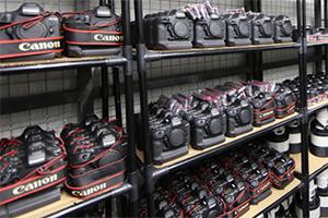 Il magazzino Canon alle Olimpiadi di Rio 2016