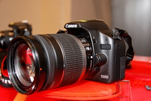 Canon 500D al Photoshow 2009