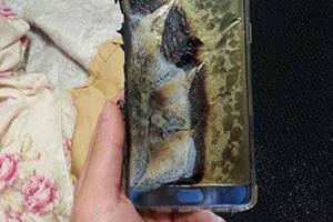 Galaxy Note7 esploso durante la ricarica