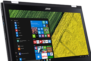 Acer Spin serie 3: foto ufficiali