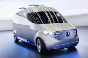 Il furgone nel futuro avrà i droni sul tetto, per consegne super veloci